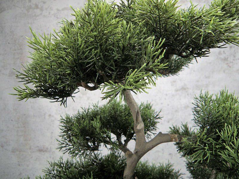 artificial conifer bonsai in pot artificial plant bonsai tree