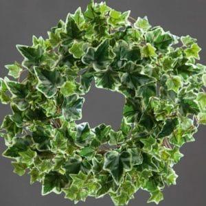 green ivy wreath 33 cm artificial plant