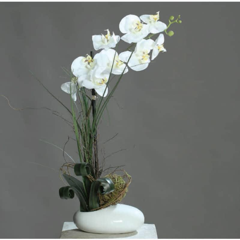 Orchid Arrangement Pot