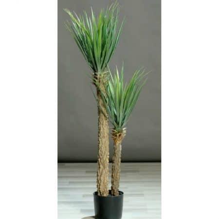 Artificial Yucca in pot