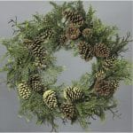 Artificial Christmas Wreath Arrangement