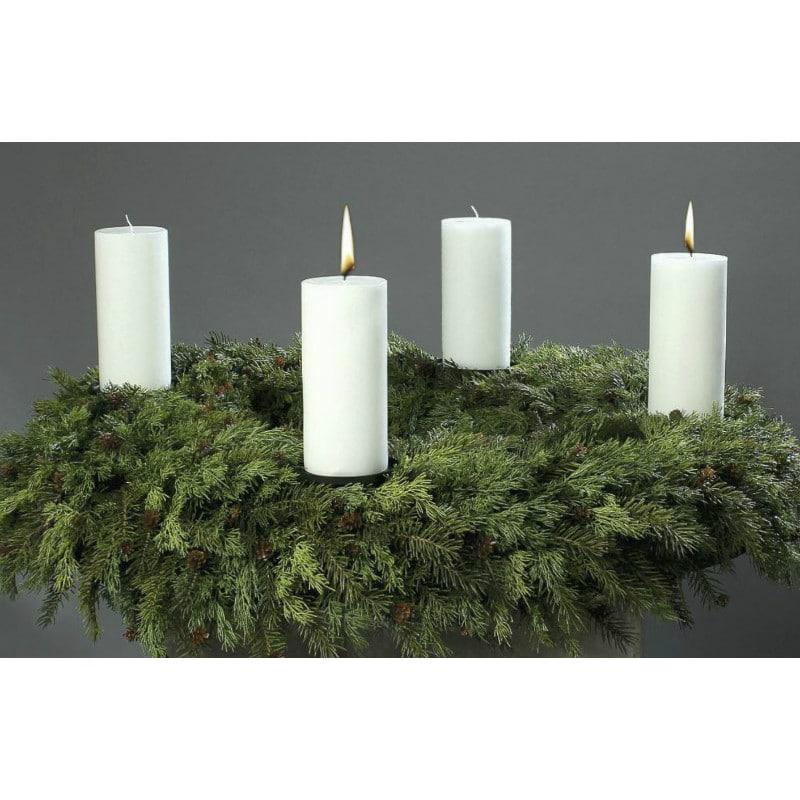 Conifers Artificial Advent Wreath