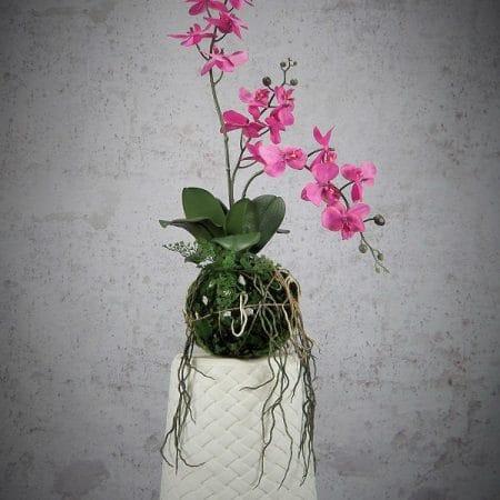 orchid wanda artificial flower arrangement high quality 58 cm