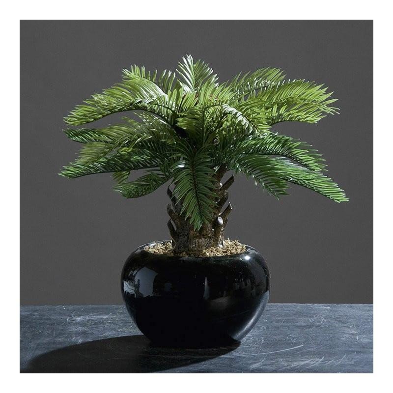 palm in the ceramic pot 32 cm artificial plant