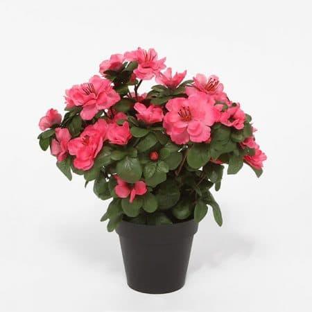 azalea pink artificial