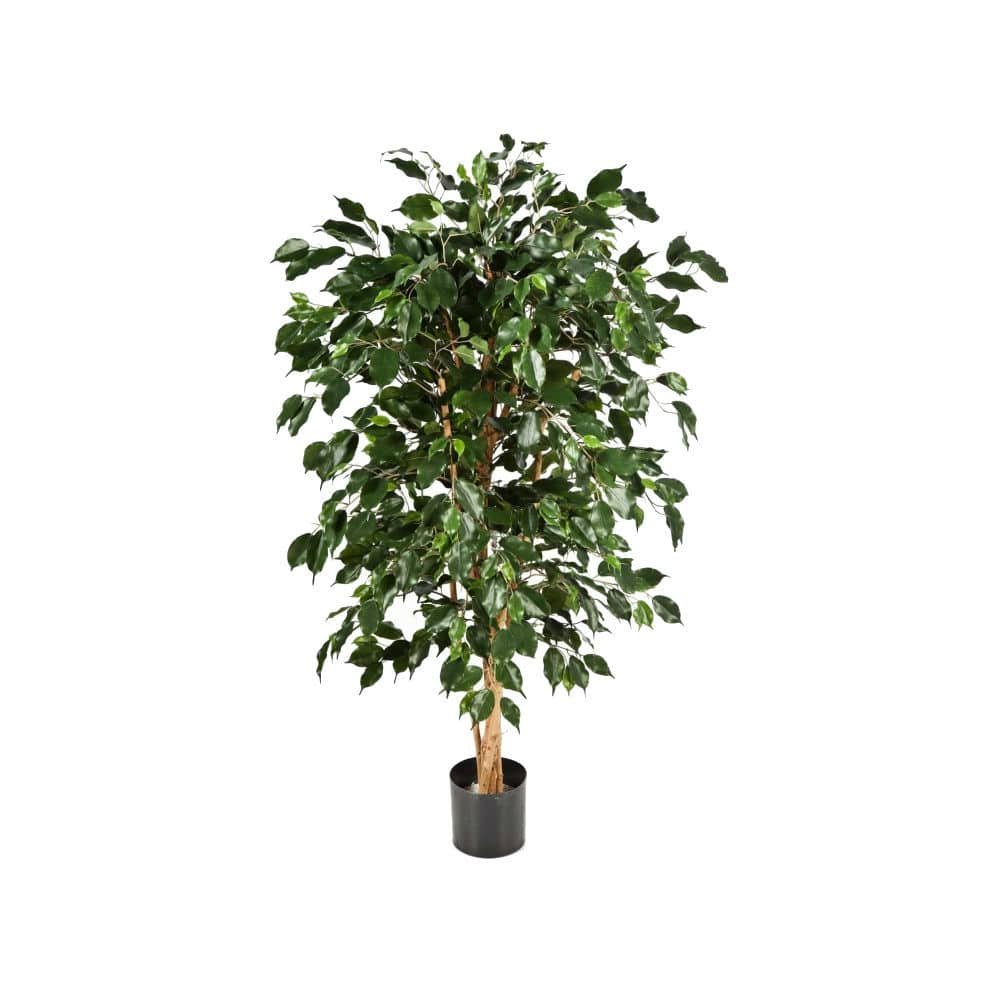 Classic Dark Green artificial Ficus Tree
