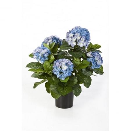 Artificial Hydrangea blue - De Luxe