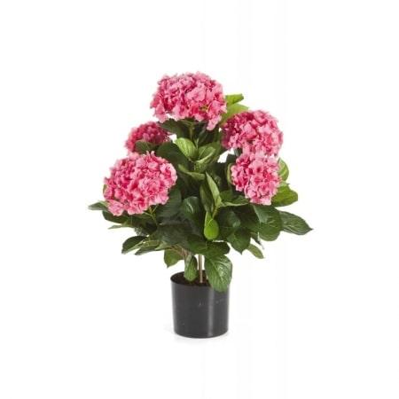Artificial Hydrangea Rose - De Luxe