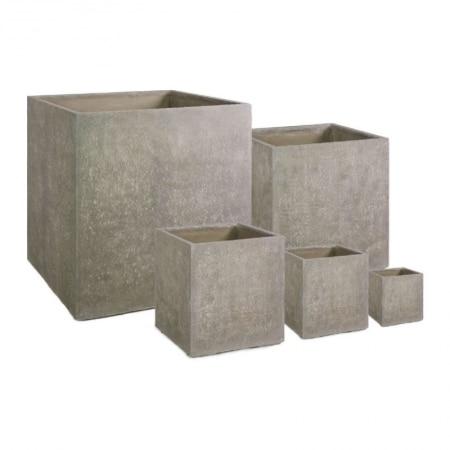 division square pot cement
