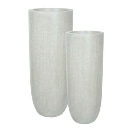 Division Plus Pot Vase natural cement 02