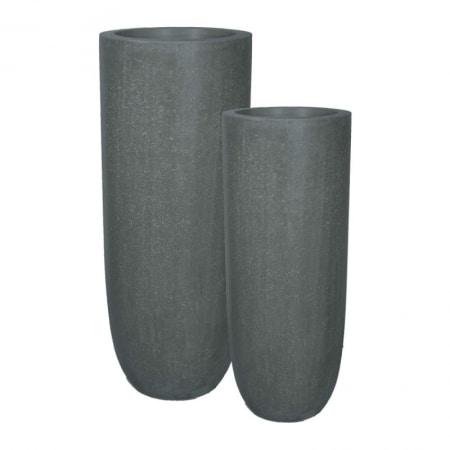 Division Plus Pot Vase anthracite