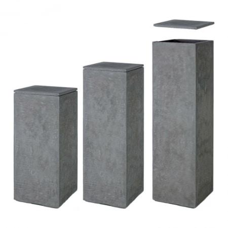 Division Plus Pedestal Pot anthracite 02