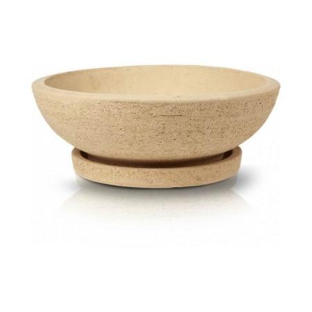 Round pot bowl sand venice1