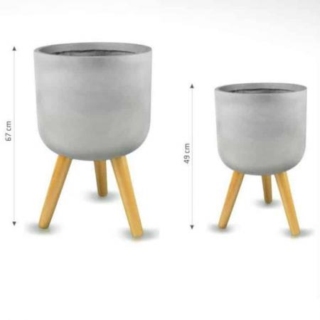 modern pots fiberclay